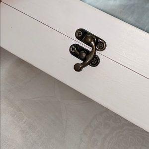 Storage & Organization - Wedding ring box | White | Rustic style